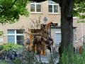 Skulpturengarten im Innenhof