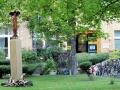 Skulpturengarten im Innenhof (Markus Petersen)