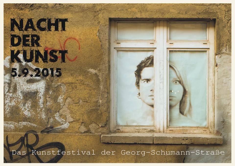 Nacht der Kunst am 5. September 2015 in der Georg-Schumann-Straße