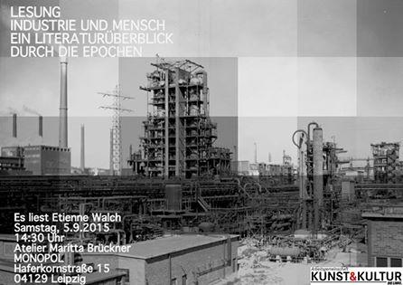 """Lesung """"Industrie und Mensch"""""""