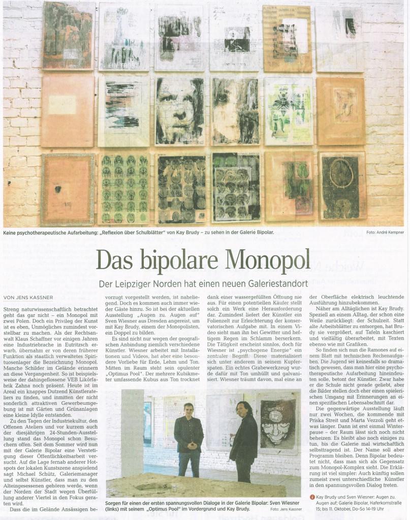 LVZ Artikel vom 8.10.2015 Jens Kassner