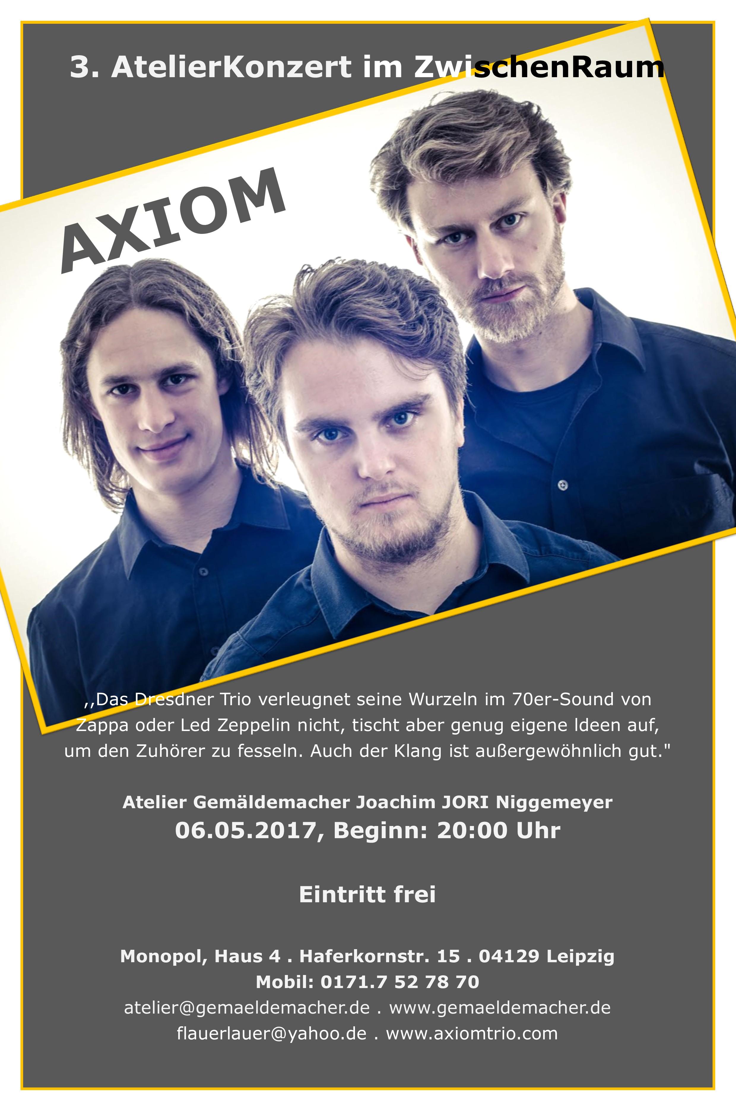 Plakat AXIOM.1