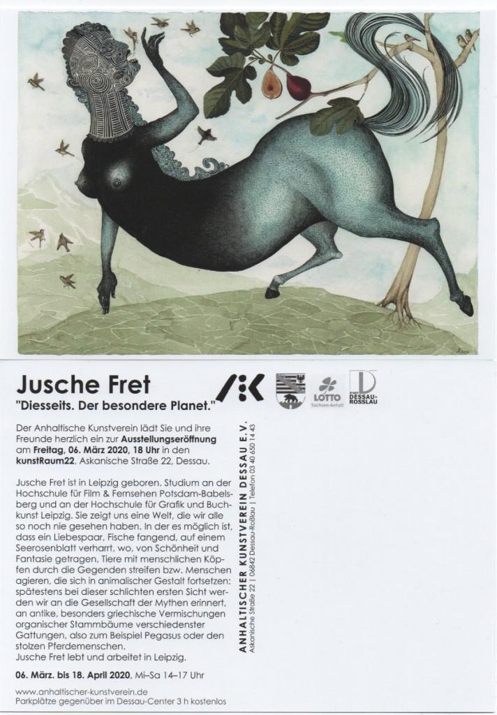 Einladung Kunstverein Dessau